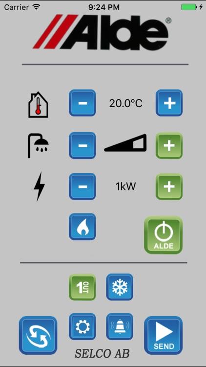 Alde Smart Control by Rickard Hallin