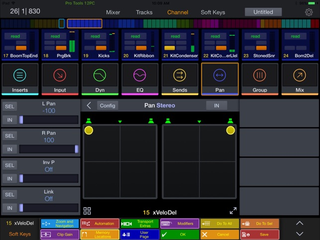Pro Tools | Control Screenshot