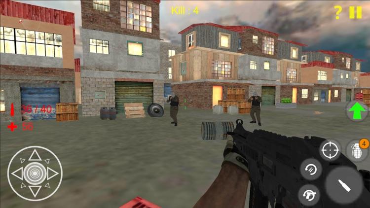 Terrorist Shooting Game screenshot-3