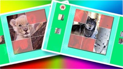 楽しい動物のジグソーパズル ScreenShot2