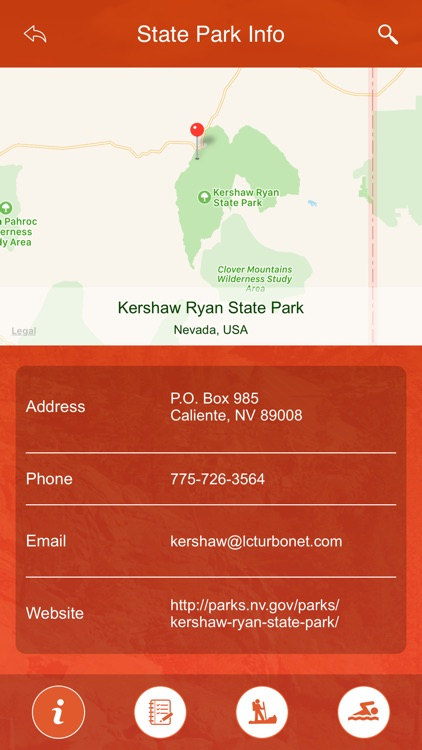 Nevada State Parks & Trails screenshot-3