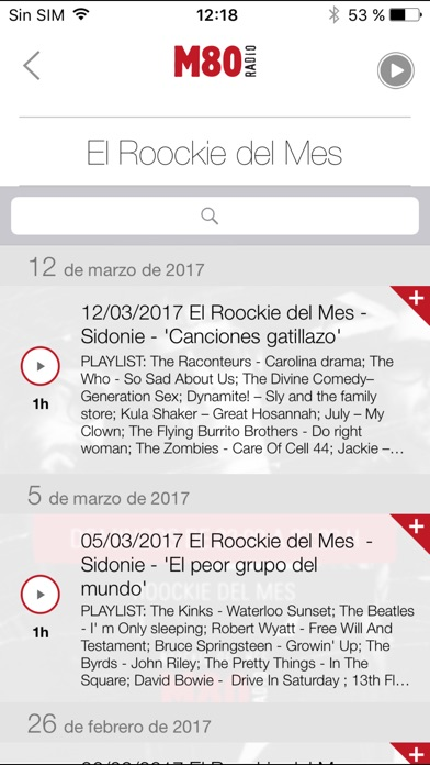 download M80 Radio para iPhone apps 3