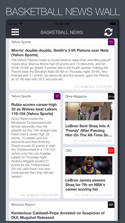 Live Basketball News & Predictions screenshot-0