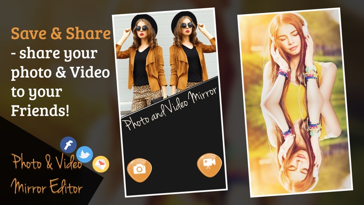 Photo and Video Mirror Editor screenshot-4