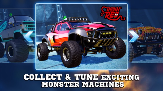 Monster Trucks Racing on the App Store