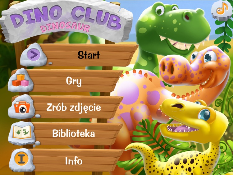 DinoClub. Świat Dinozaurów HD screenshot-0