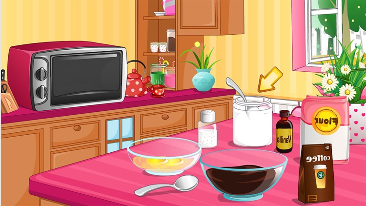 Hearts with Cream free Cooking games for girls screenshot-4