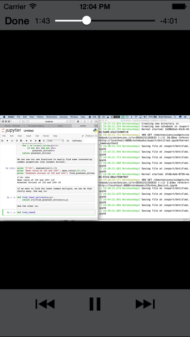 Learning iPython screenshot 2