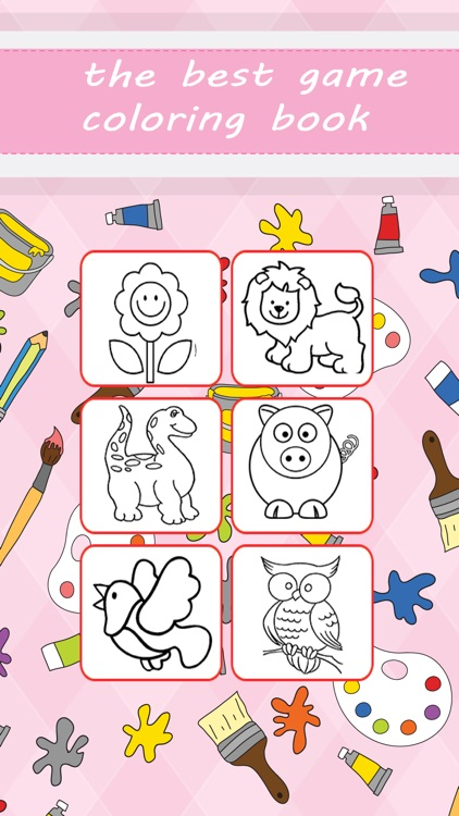 Coloring Book for Kids and Preschool Toddler Learn