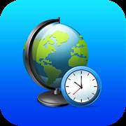 World Clock Map