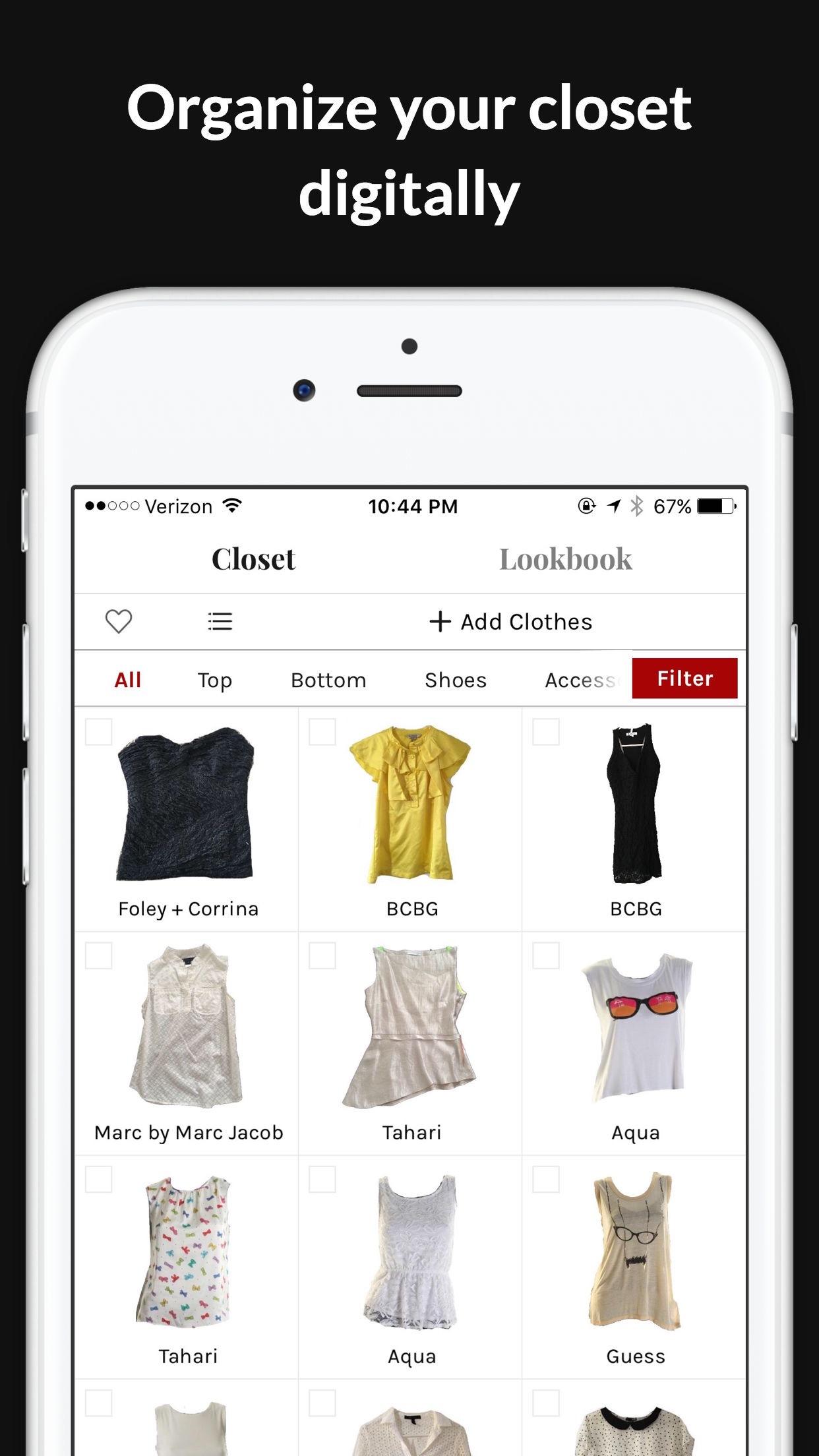 bang camera app olympus digital closet wardrobe style on organizer cluise