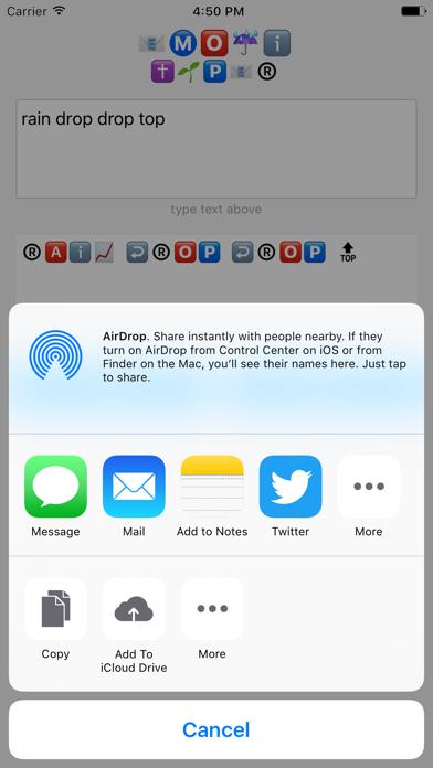 Emoji Text Typer Screenshot