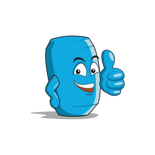 Can Cartoon Sticker-Sticker für iMessage