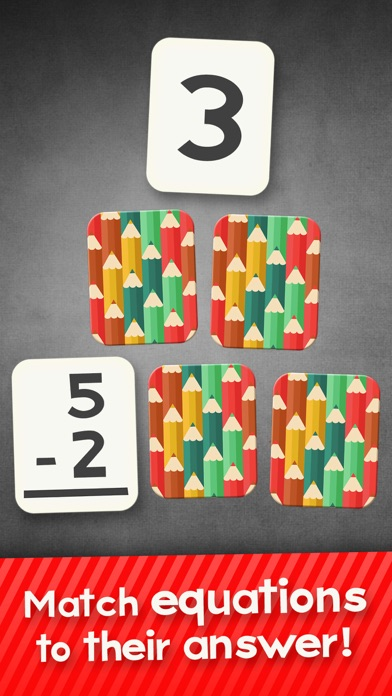 Subtraction Flash Cards Math Games for Kids Free-0