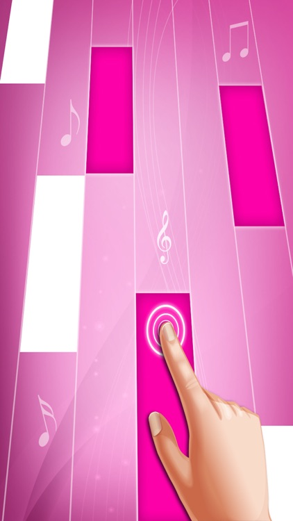 Pink Piano Tiles : Piano Games screenshot-2