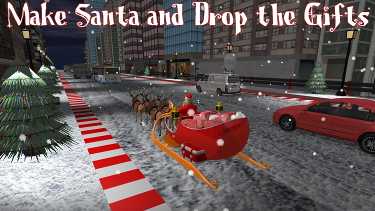 Mini Santa Racing Adventures screenshot-3