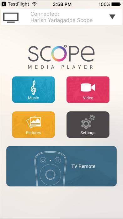 YuppTV Scope Remote screenshot two