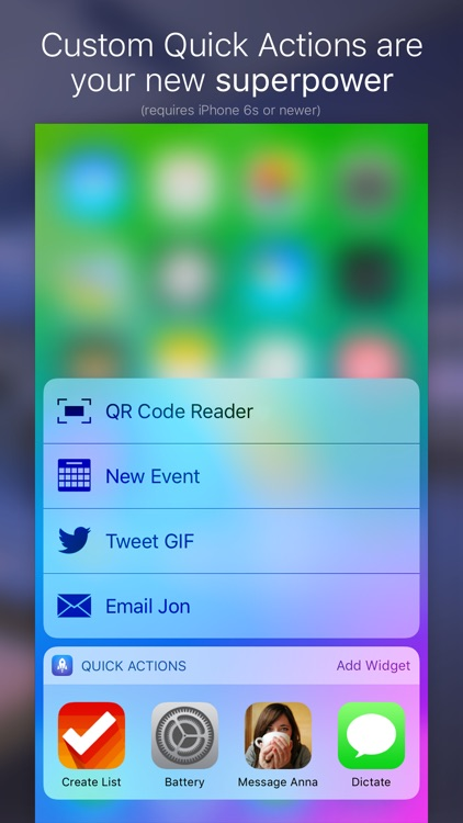 Launch Center Pro - Shortcut launcher & workflows