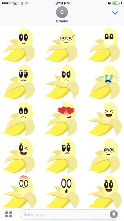 Friendly Fruits Sticker Pack screenshot-4
