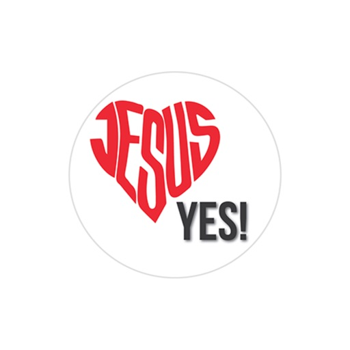 Jesus Loves You stickers by Host