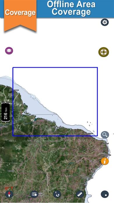 L. Corrêa to Guiana F. Charts screenshot two