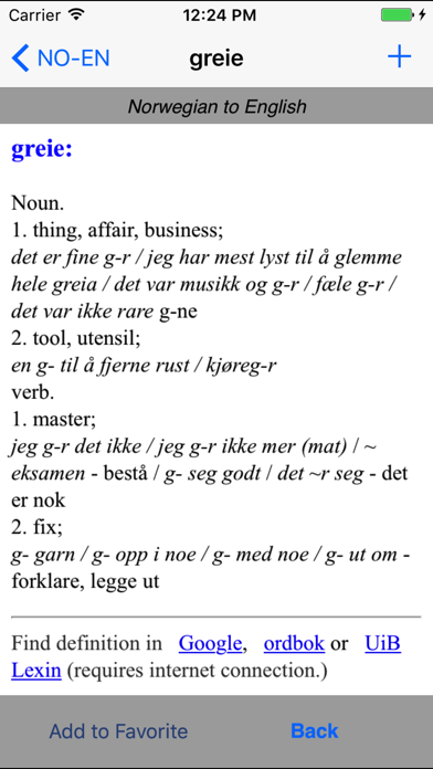 AppGrooves: Compare Norwegian-English Dictionary vs 10 Similar ...