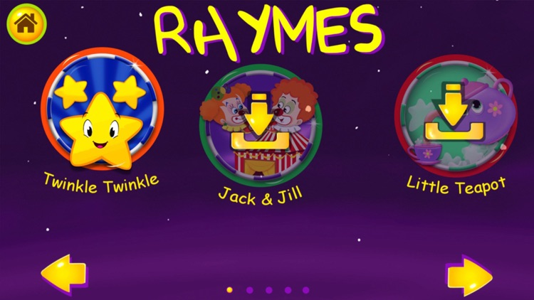 Kids Nursery Rhymes & Learning Fun Activities