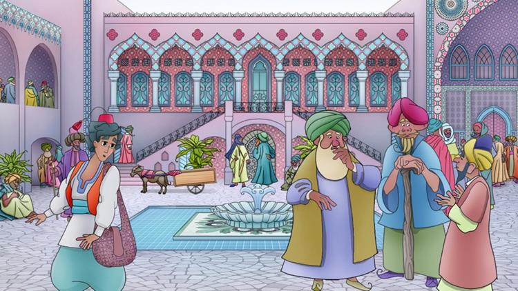 Aladdin and The Magic Lamp - Interactive Kids Book