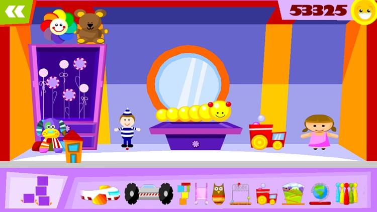 玩偶之家 - 裝飾遊戲對孩子 screenshot-3