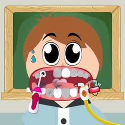 Dentist Game - The Student Checking Teeth