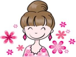 Big Eye Beauty stickers by wenpei