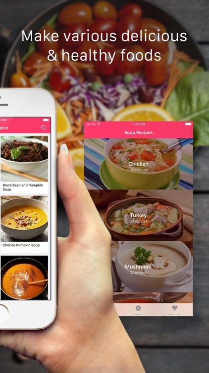 Soup Recipes: Healthy cooking recipes & videos