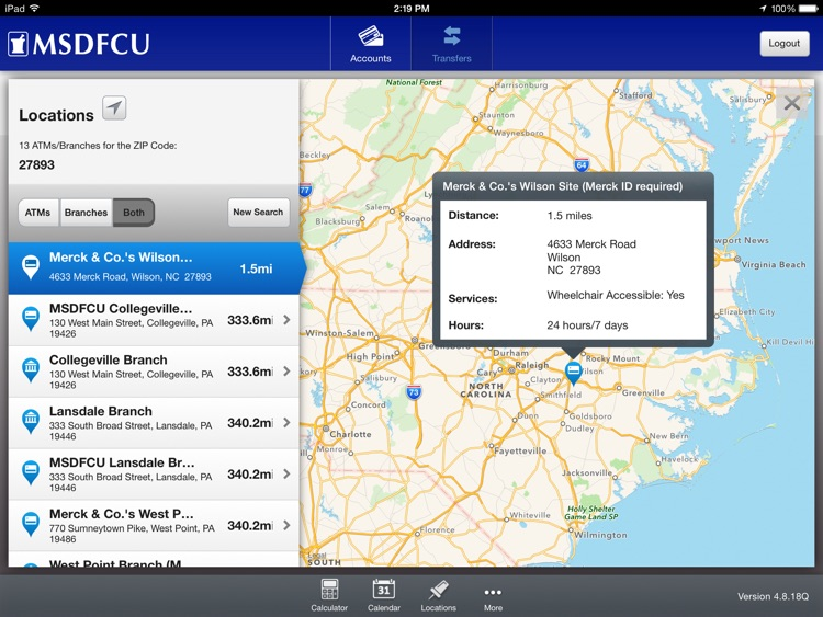 Merck Sharp & Dohme FCU Mobile for iPad screenshot-4