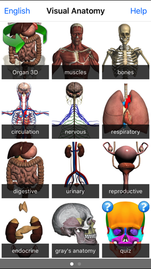 Visual Anatomy on the App Store