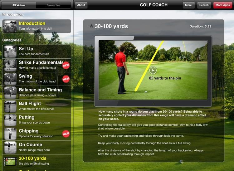 Golf Coach for iPad screenshot-4