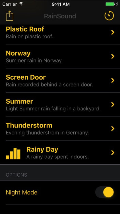 Rain Sounds for Sleep and Relaxation screenshot-3