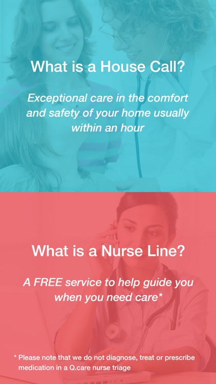 Q.care - On Demand Nurse Triage and House Calls
