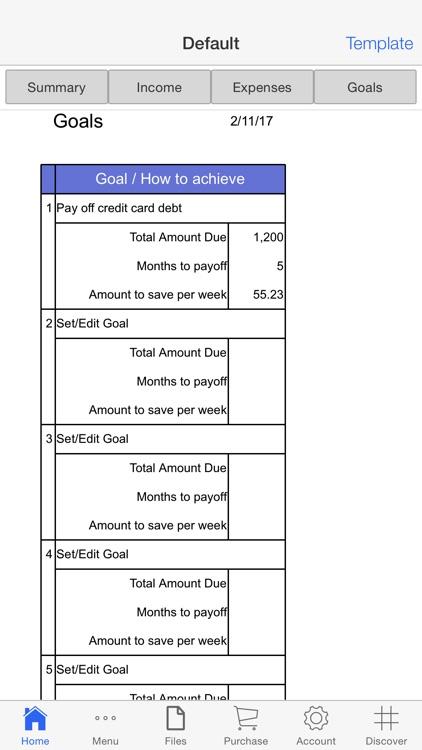 Personal Budget Pro screenshot-4