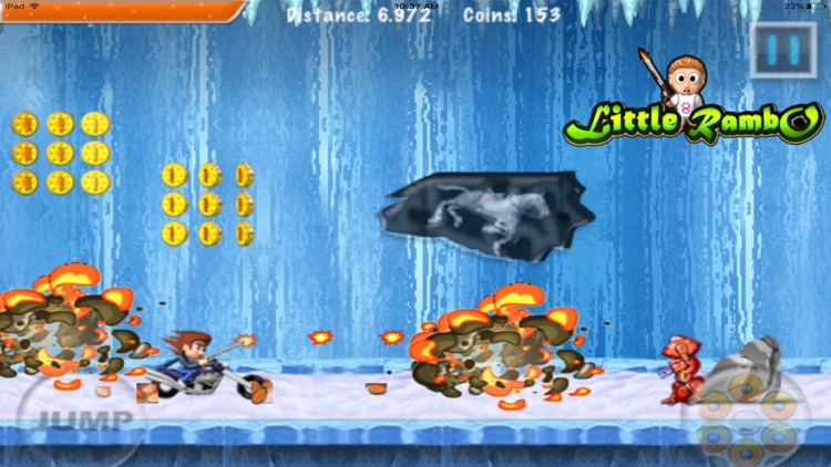 Little Rambo Shooting : Fun Kids Shooting & Racing screenshot-3