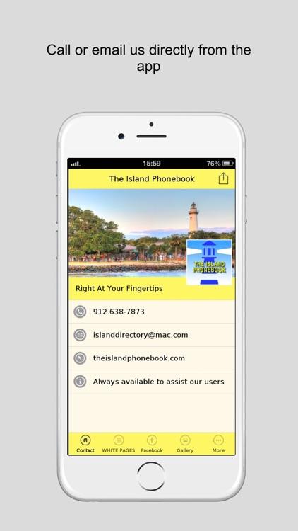 The Island Phonebook