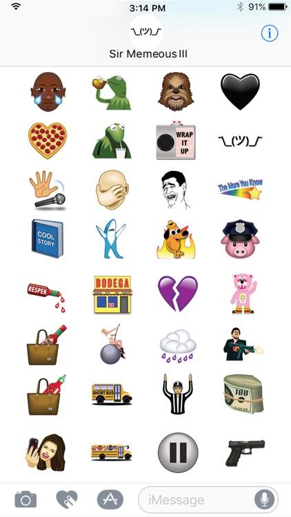Memes & Things by Emoji Fame screenshot-3