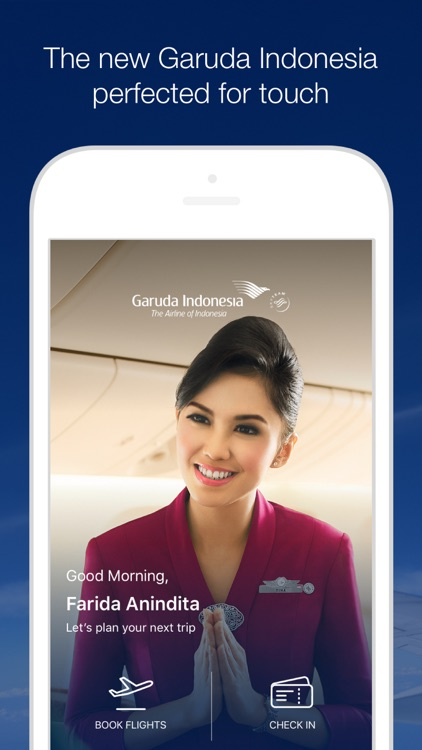 GARUDA INDONESIA MOBILE screenshot-0