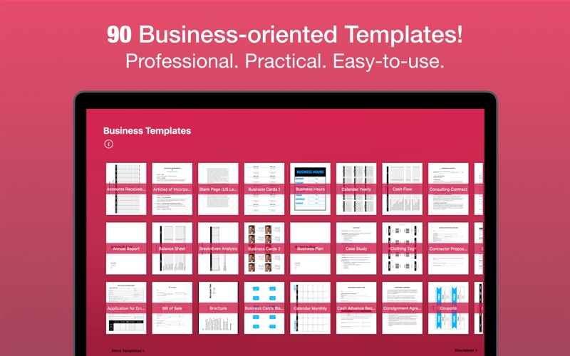 Business templates for pages app price drops screenshot 1 for business templates for pages wajeb Image collections
