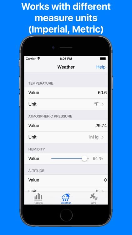 Air Density Meter & Density altitude calculator