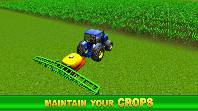 Farm Tractor Simulator : Village Life Farmer