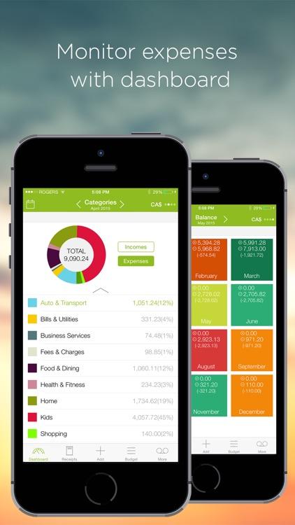 Foreceipt Receipt Tracker: Money & Budget Planner