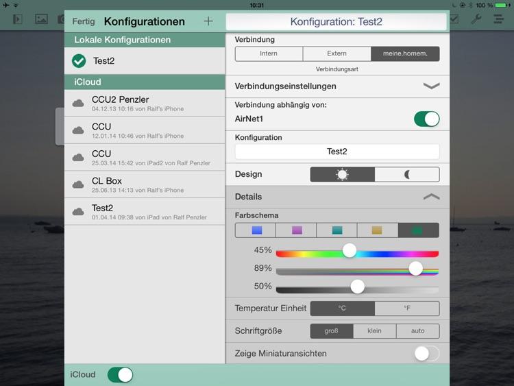 pocket control CL for iPad screenshot-3