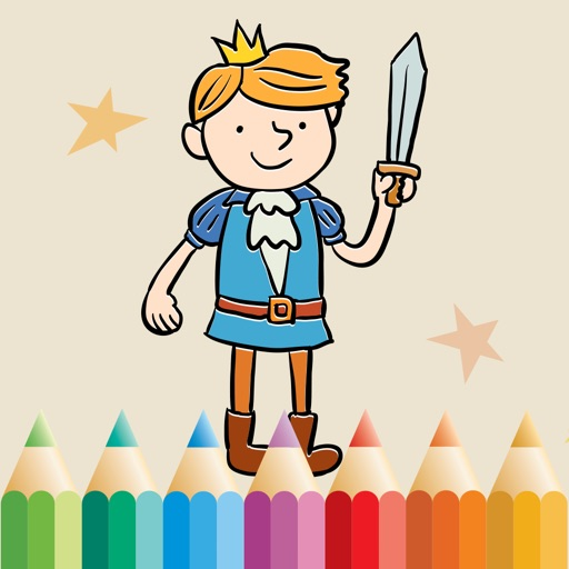 Royal Coloring Book: Color princess, castle, ...