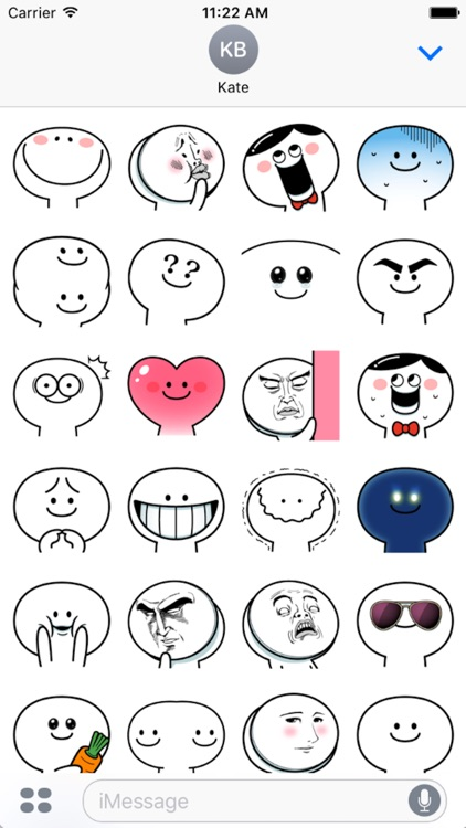 Smile Face Sticker