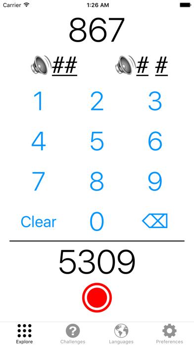 Fluent Numerals screenshot one